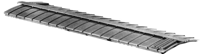 Central Valley 1002 Round Freight Car Roof Kit.